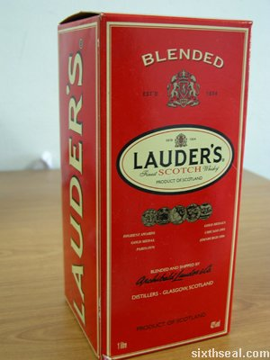 lauders scotch