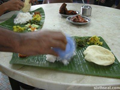 ll banana leaf rice