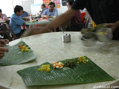ll banana leaf serve