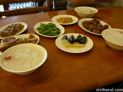 taiwan siau jou dishes