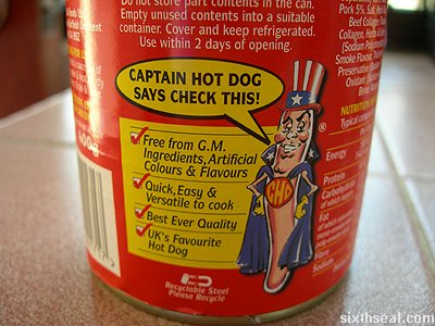 captain hot dog