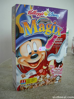kelloggs magix disney