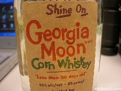 Popcorn Sutton's Tennessee White Whiskey