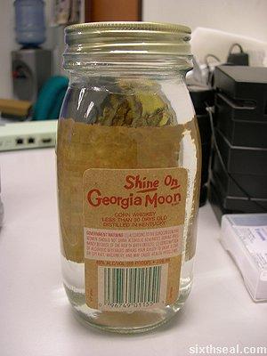 shine on georgia moon bottle