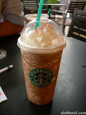 starbucks peppermint frappe venti