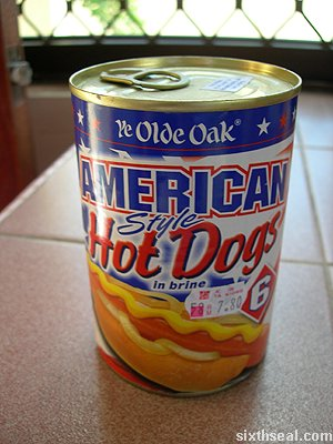 ye olde oak hotdogs