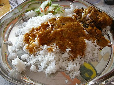 camel curry rice