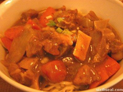 life lamb noodles