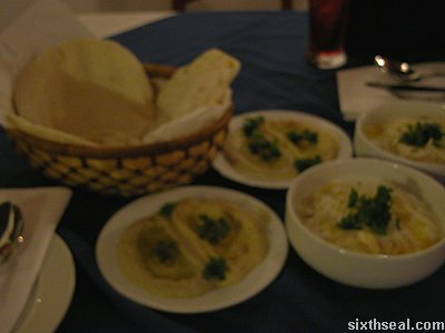 little leb bread dip