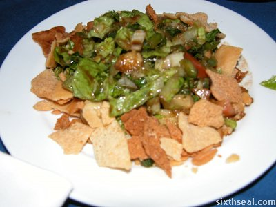 little leb fattoush flash