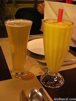magenta mango beer