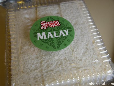 snack attack malay sandwich pack