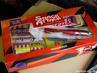 snack attack snack pack