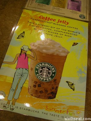 starbucks coffee jelly promo