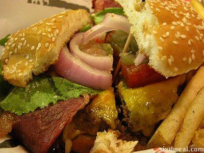 tgif burger macro