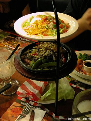 tgif fajita tower