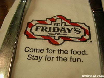 tgif food fun
