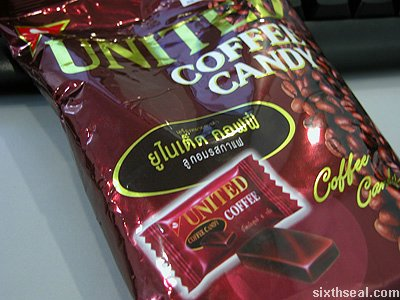 united coffee packet