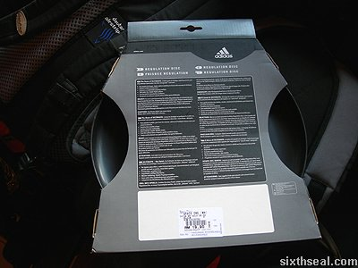 adidas ultimate frisbee back
