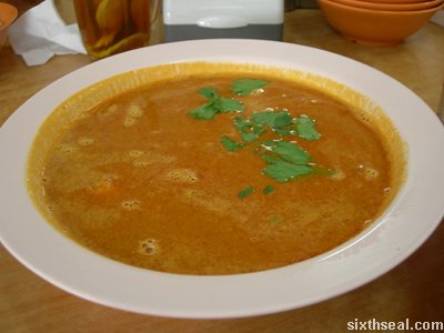 assam tom yam fish