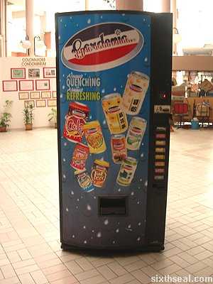 gardenia cola vending machine