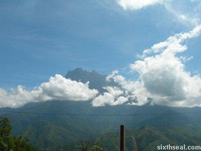 kinabalu drive clouds