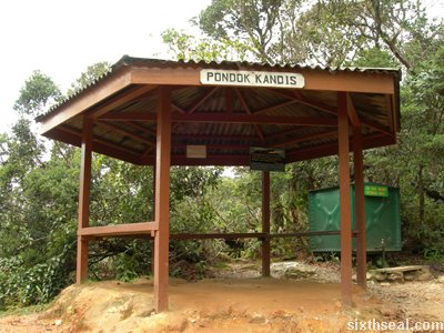 km1 kandis hut