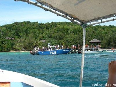 manukan island docking