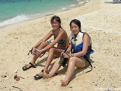 manukan island girls