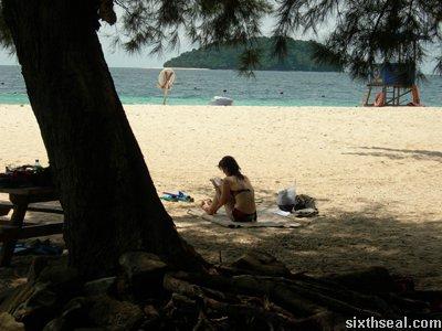 manukan island reading