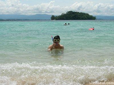 manukan island snorkelling