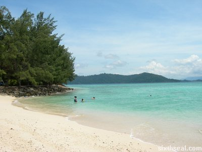 manukan island waters