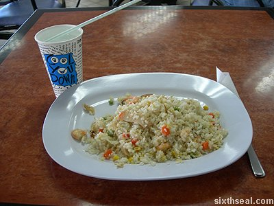 retimed fried rice