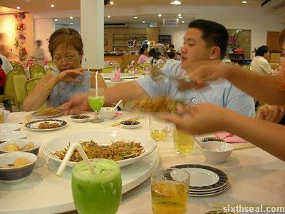 sheraton noodle dish