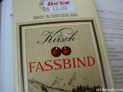 fassbind brand choc