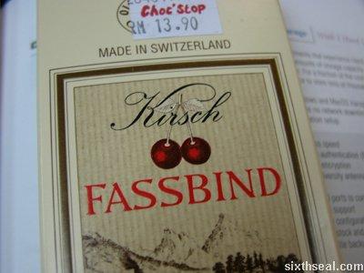 fassbind brand choc
