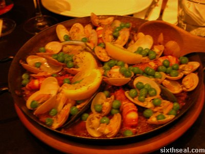 la bodega paella