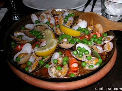 la bodega paella flash