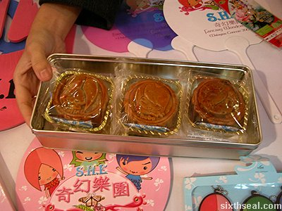 mooncake booth