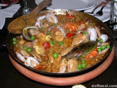 paella mixed flash