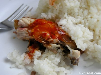 pelangi chicken rice