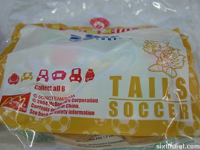 tails soccer wrap