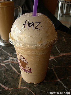 cbtl hazelnut ice blended