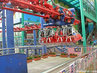 flying coaster ride