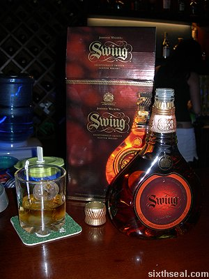johnnie walker swing drink