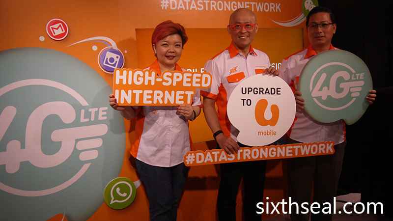 Umobile Data Strong Network