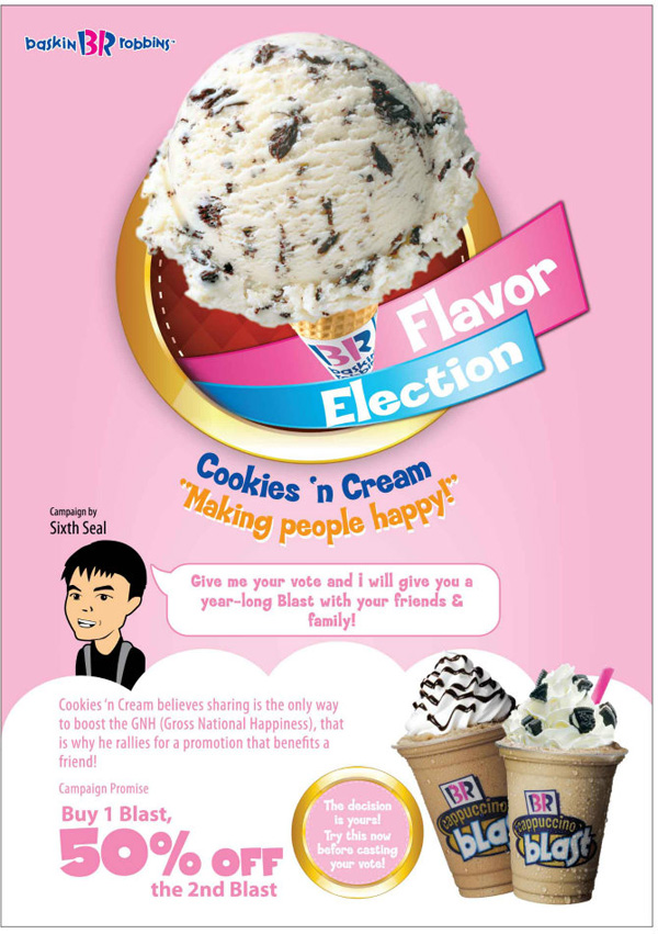 baskin robbins elections