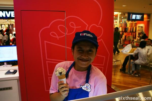 free br ice cream