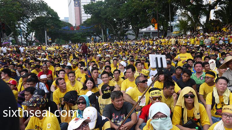 Bersih 4 Crowd