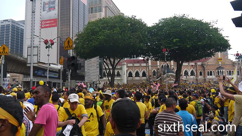 Bersih 4 Dataran Merdeka